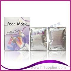 China Proffesional factory skin peeling milk foot mask on sale