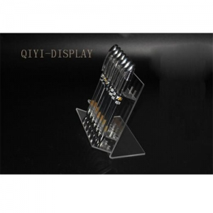China Acrylic Pen Pencil Eyeliner display rack stand ballpoint pen holder showing display rack A217 on sale