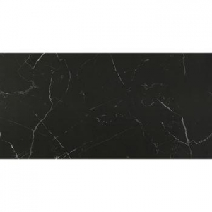 China Black marble tile with white veins on sale