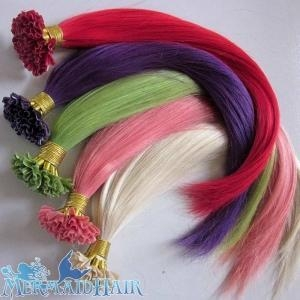 China u tip hair extensions/Indian remy hair extensions on sale