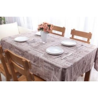 Newspaper style Printed 100% cotton table cloth