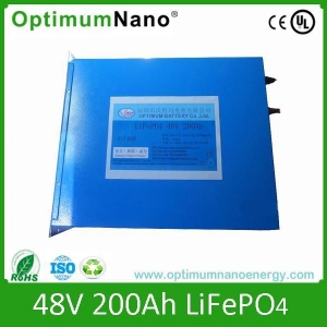 China Low Speed Vehicle Battery 48V 200Ah Lithium Battery Packs for Electric Sightseeing Vehicle on sale