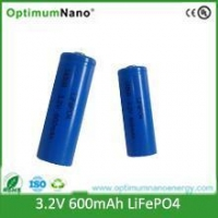 AA 14500 Lithium Ion Rechargeable Batteries: 3.2V500mAh(1.6WH)