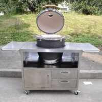ceramic grill/outdoor cooker/kitchenware/home stove/restaurant equipment/kamado grill AU-21S1