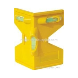 Magnetic Post Hole Level mini plastic level
