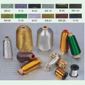 China Thread/Yarn/Filament Metallic Yarn on sale