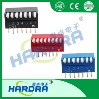 China DIP Switch Blue Piano Dip Switches/215-06P on sale