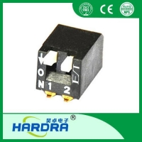 China DIP Switch SMD Piano Type Dip Switches/265-S-02-N on sale