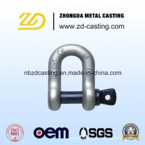 China China OEM Alloy Steel Forging Shackle for Railway on sale
