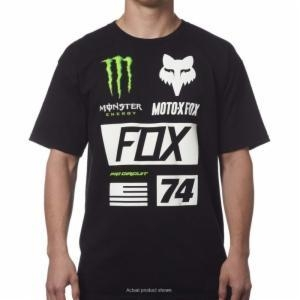 China Fox Monster Union Black Tee on sale
