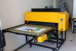 China Double station sublimation heat press machine on sale