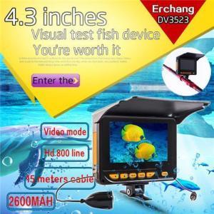 China 20M 4.3 TFT Underwater Fishing Camera System HD 1000TV Lines Underwater Fishing Camera with Record on sale