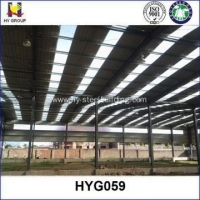 African Prefab steel structure low cost industrial shed designs