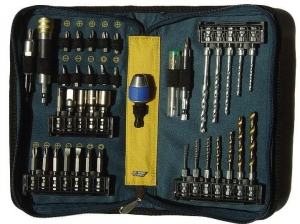 China Twist drill bit set 42PCQuickChangeDrillSet on sale