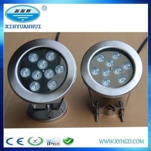 China Pool Lights Underwater Supply With 9W 12W 18W RGB LED Pool Lights on sale
