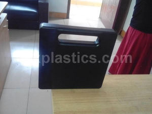 China Black High impact uhmwpe crane stabiliser pads on sale