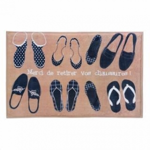 China French Shoes Floor Mat on sale