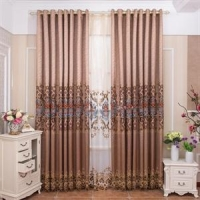 China New Product European Style Hotel Window Curtain For Living Room on sale