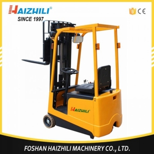 China Warehouse Lifting Equipment 1 Ton 3000mm Mini Electric Forklift Truck on sale