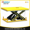 China 1000KG 1700MM Heavy Duty Stationary Electric Hydraulic Scissor Lift Table For Warehouse for sale