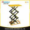 China Scissor lift work platform 1 ton stationary scissor lift platform for sale