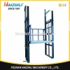 China Cargo Lift 2000kg 4500mm Stationary Hydraulic Guide Rail Lift Platform for Factory for sale