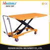 China New design500kg hand scissor lift platform with the best price for sale