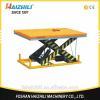 China Warehouse 1000kg heavy duty electric hydraulic scissor lift work platform for sale