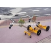 China Electric Pallet Truck Eagle-grip Type Oil Drum Hand Cart With 450kg Loading Capacity for sale