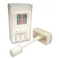 One-Step Saliva Drug Test Oral Cube 12 Panel with Alcohol 25/Box