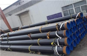 China 3PE Coated LSAW Steel Pipes/ API 5L Line Pipe on sale