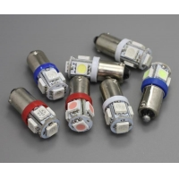 China Gauge Face BA9S 5SMD Gauge Bulb LED on sale