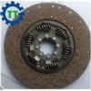 China Heavy duty truck spare parts clutch disc 400mm OEM 1878087241 for sale