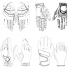 China Personalized Golf Glove Custom Made for sale
