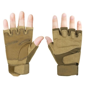 China Half Finger Men Gloves Training Glove Army Gloves on sale