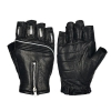 China Fingerless Motorcycle Gloves Leather Motorbike Gloves Factory Sale Cool Mens Moto Gloves MC25 for sale