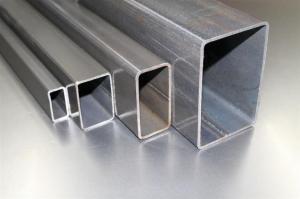 China Aluminium Rectangular Tube on sale