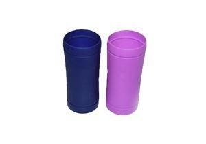 China 28 OZ Glass Water Bottle Silicone Sleeve on sale