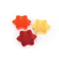 China Silicone Kitchenware Star Shaped Silicone Christmas Chocolate Cookie Cake Molds on sale