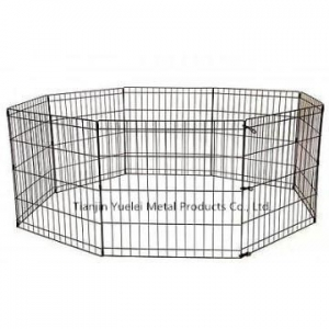 China Dog Kennel Cage Fence Pet Enclosure Safe Dogs Run Box Exercise Pen Outdoor Yard on sale