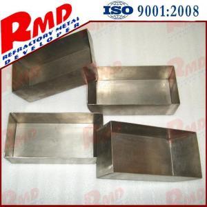 China 99.99% 99.9% 99.5% High Purity Ni200 Ni201 Vacuum Forming Nickel Boat Nickel Crucible on sale