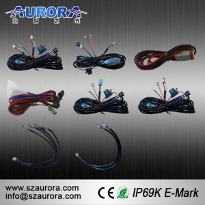 China AURORA Trailer Wiring Harness for 4x4 Offroad LED Lights on sale