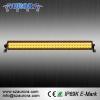 China 2016 NEW AURORA 30inch Yellow Light LED Amber Light Bar for sale