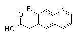 China Quinoline 2-(7-fluoroquinolin-6-yl)acetic acid on sale
