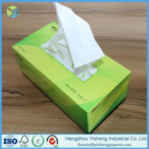 China OEM Box Facial Tissue & Printed Box Tissue Paper on sale