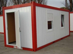 China Flat Pack Container House on sale