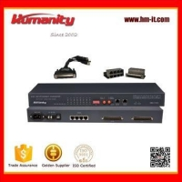 China Humanity 16E1 to 4Ethernet Protocol Converter on sale