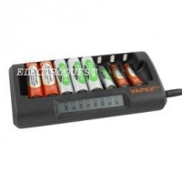 Charger Store Super Smart Fast Ni-MH Ni-Cd AA / AAA Rechargeable Battery Charger