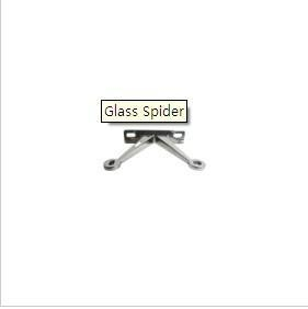 China Spider Glass wall fittings on sale