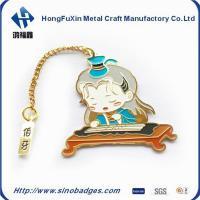 China Funny Enamel 3D Custom Magnetic Bookmark on sale